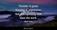 Lightning Quotes - BrainyQuote