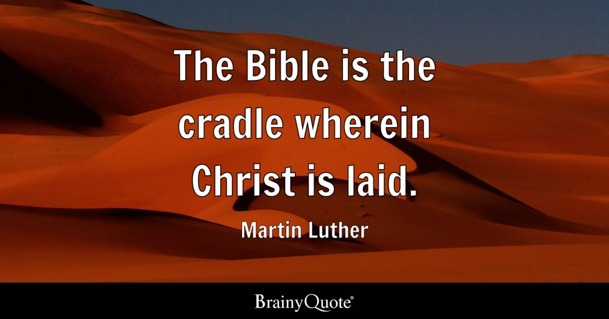 Napoleon Bonaparte Quote Wallpaper The Bible Is The Cradle Wherein Christ Is Laid Martin