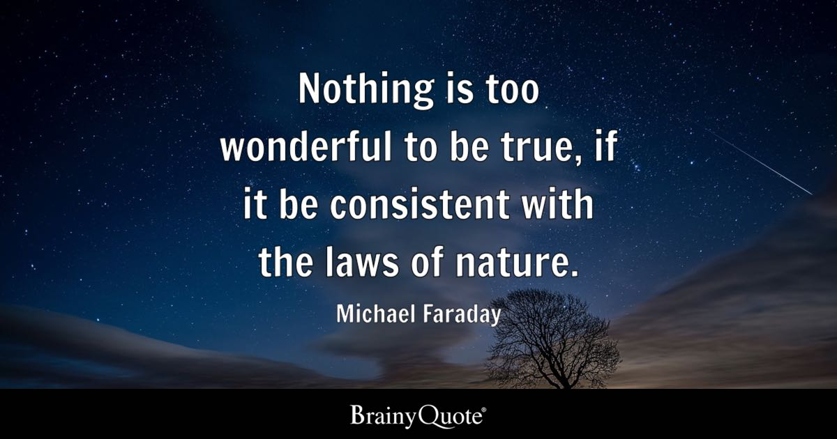 Soccer Iphone X Wallpaper Michael Faraday Nothing Is Too Wonderful To Be True If
