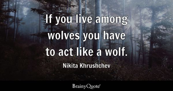 Lone Wolf Wallpaper Quote Wolf Quotes Brainyquote