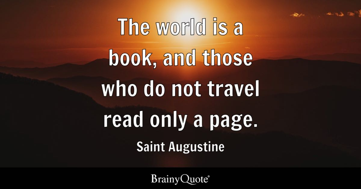 Satanic Iphone Wallpaper Saint Augustine The World Is A Book And Those Who Do Not