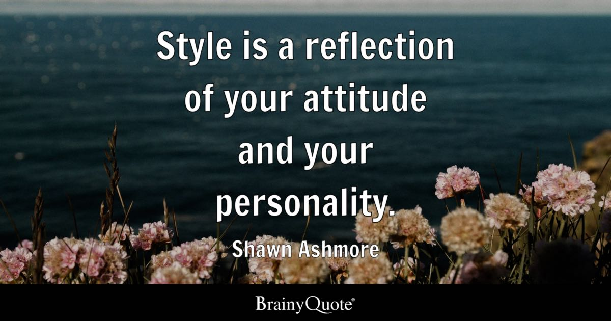 Shawn Ashmore - Style is a reflection of your attitude and
