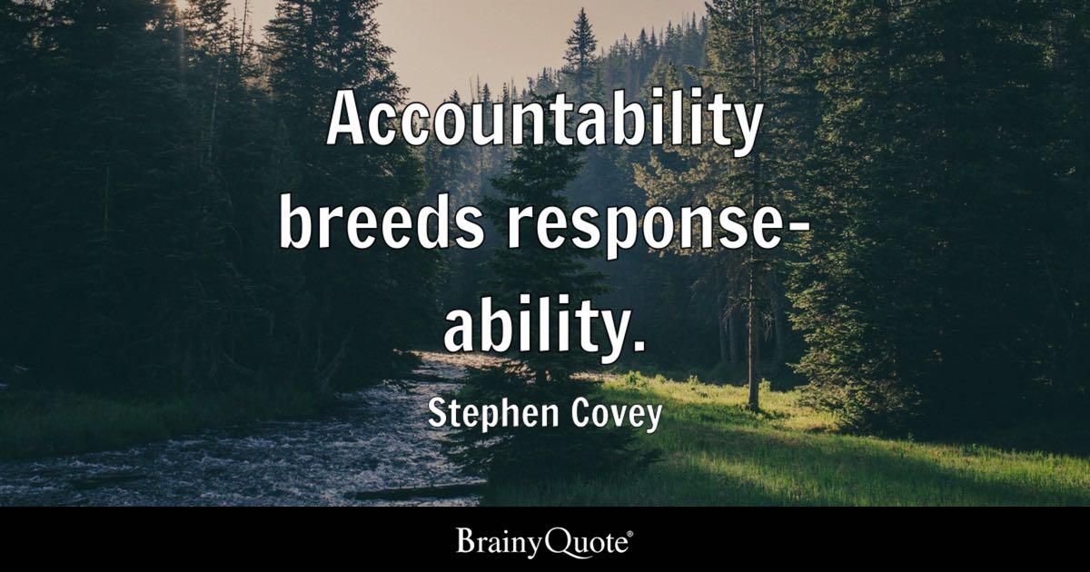 Warren Buffett Quotes Iphone Wallpaper Accountability Breeds Response Ability Stephen Covey