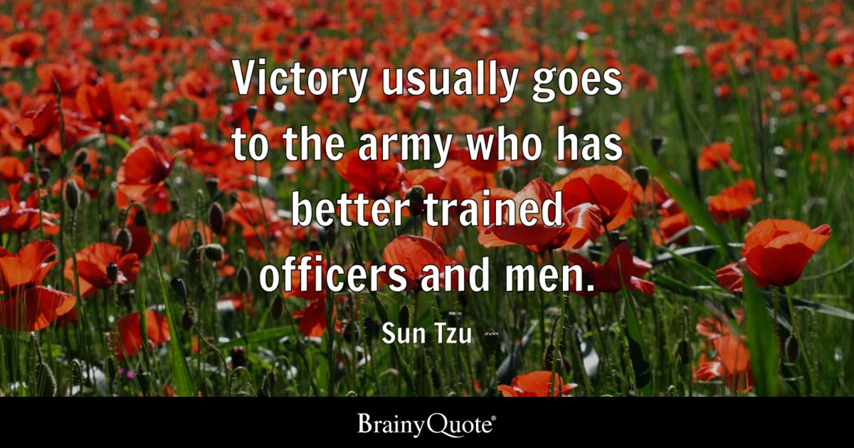Military Excellence Quote Wallpaper Top 10 Sun Tzu Quotes Brainyquote