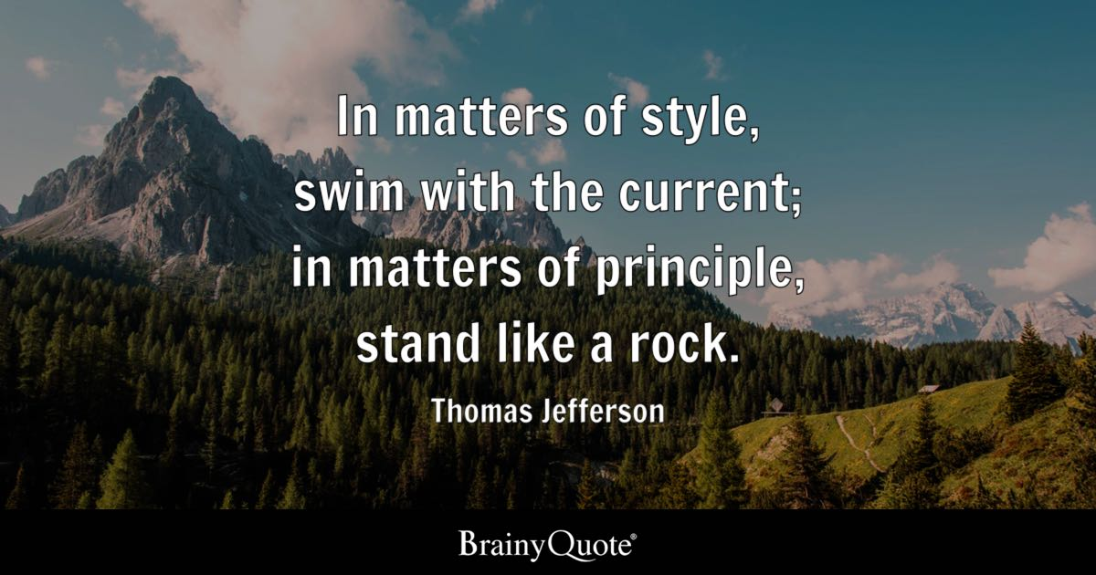 Love Understanding Quotes Wallpaper Thomas Jefferson In Matters Of Style Swim With The