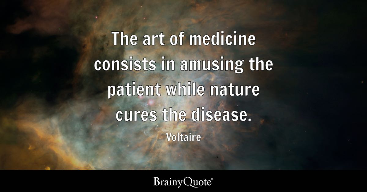 Studying Quotes Wallpaper Voltaire The Art Of Medicine Consists In Amusing The