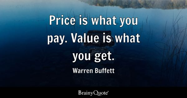 Price Quotes - BrainyQuote