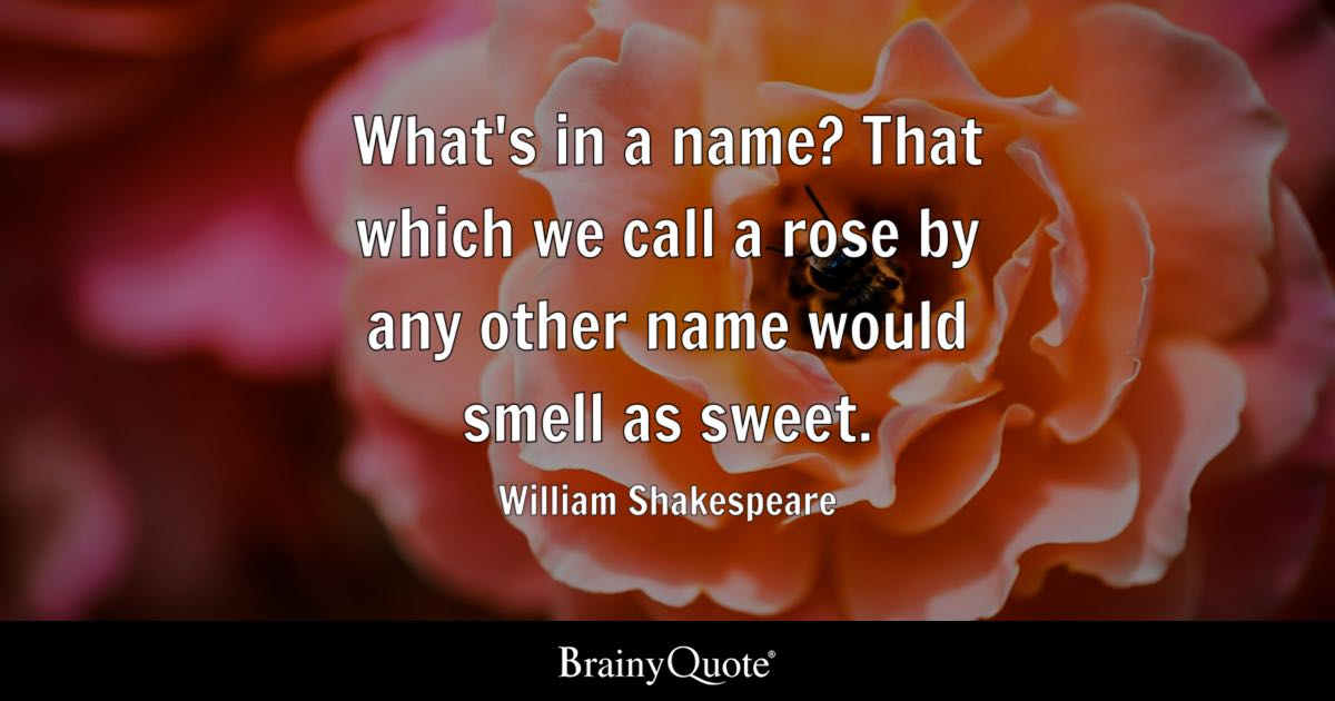 Free Fall Harvest Desktop Wallpaper William Shakespeare What S In A Name That Which We Call