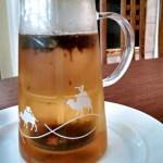 [image: tea being brewed in Lupicia's Handy Cooler]