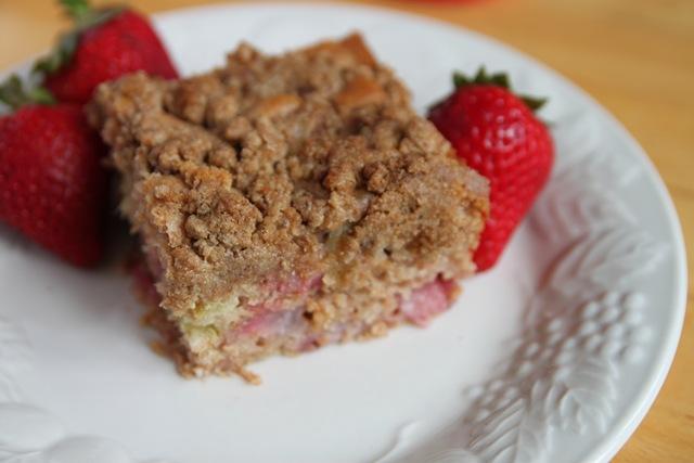 Paleo Rhubarb Cake II