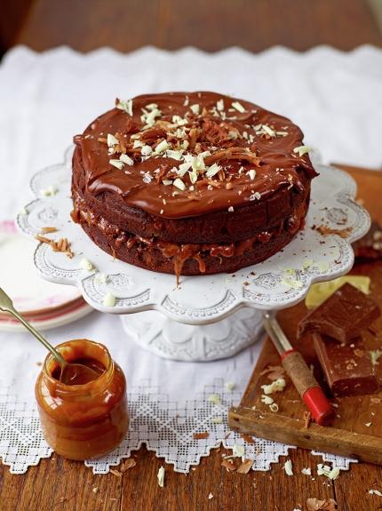 Chocolate Salted Caramel Cake