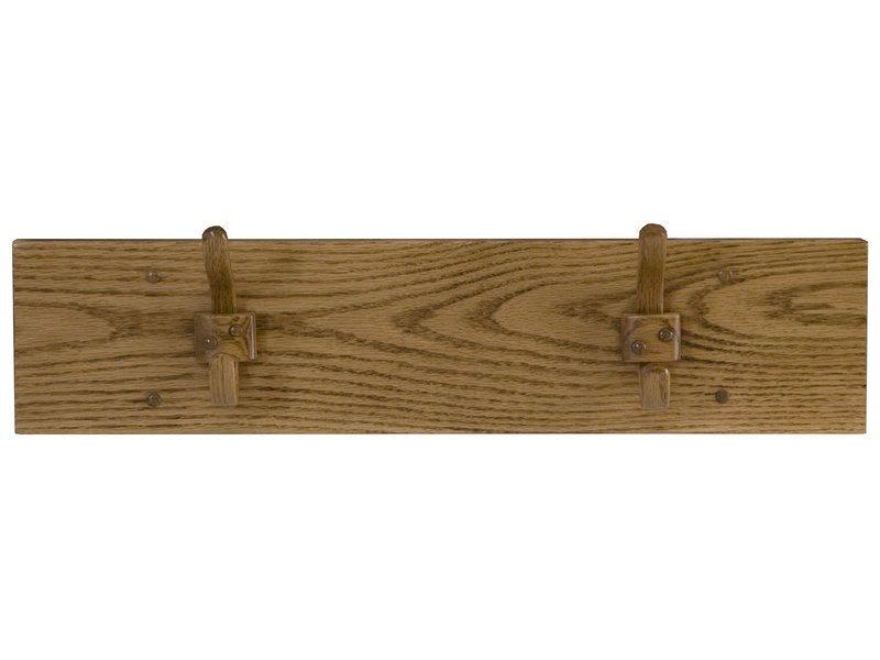 Amish Wooden One Hook Coat Rack Brandenberry Amish Furniture