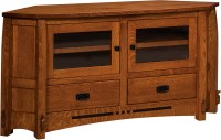 Corner TV Cabinets and Stands | Brandenberry Amish Furniture