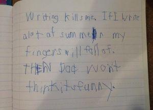 writing-kills-me
