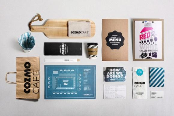 COZMO Café : Branding 01