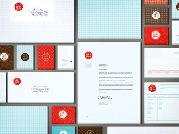 Baked Ideas brand identity 05