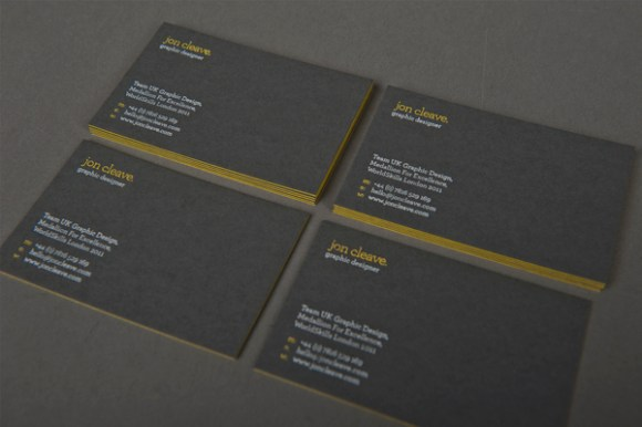 Jon Cleave business card deign 03
