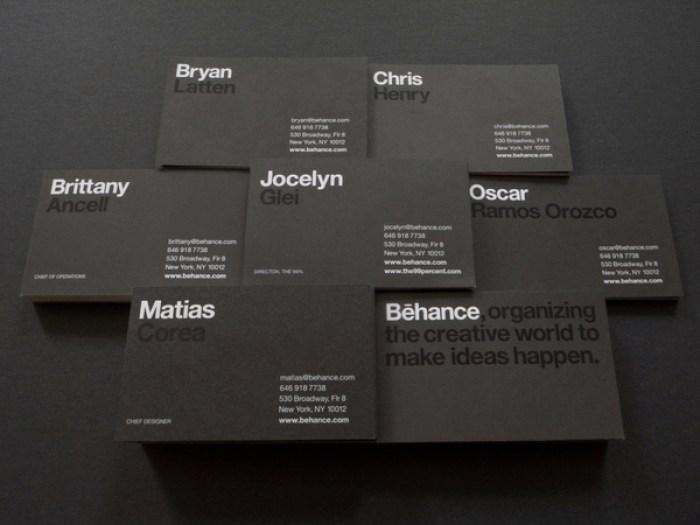 behance business card design 23
