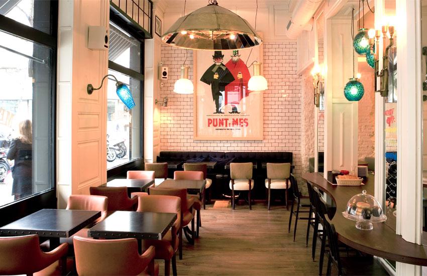 Restaurant interior brand design b i d
