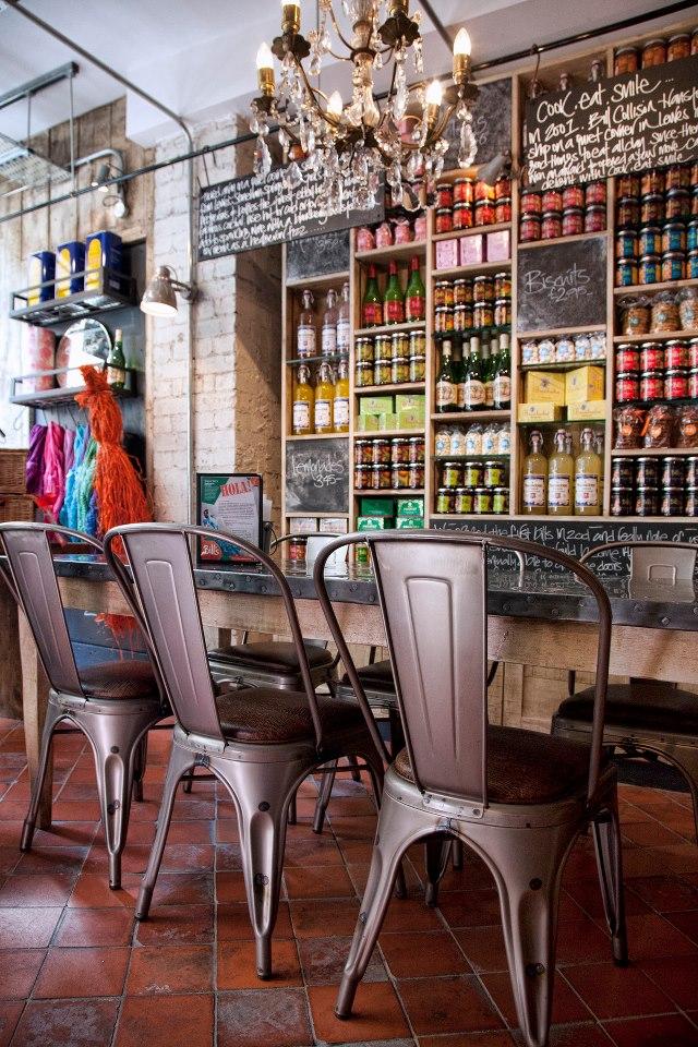 Restaurant interior brand design branding identity