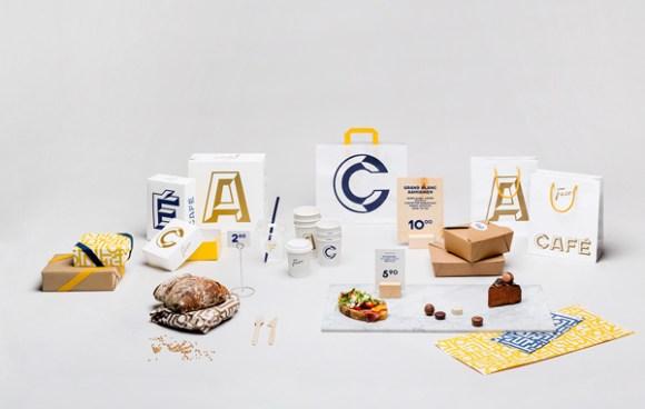 Fazer Café restaurant identity 04