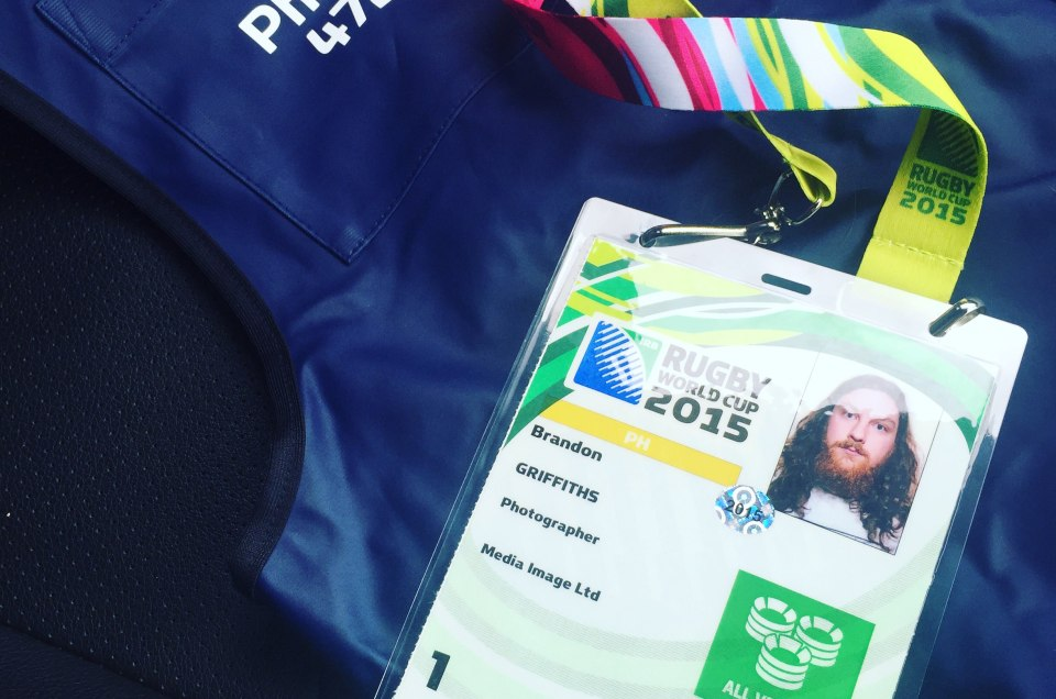 Rugby World Cup Media Accreditation