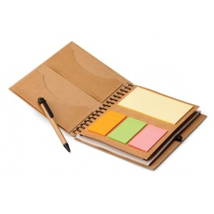 Eco Friendly pen with notepad