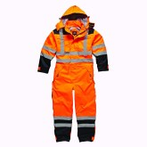 Waterproof safety coverall