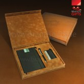 Luxury Custom Gift Item Set High quality Promotional Corporate Gifts With VIP Gift Items and Custom PU Leather Box. www.brandsgifts.ae