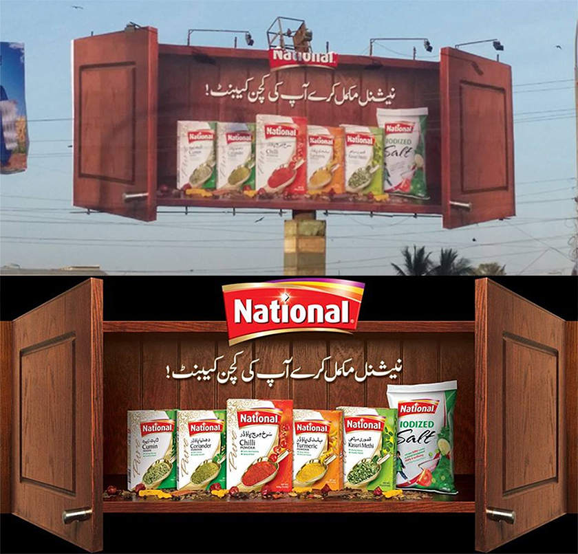 Complete your kitchen cabinet with national foods