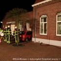 Auto-Ongeval bij Café/Zaal Wetemans in Leveroy