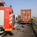 Diesel lekkage A2 Nederweert