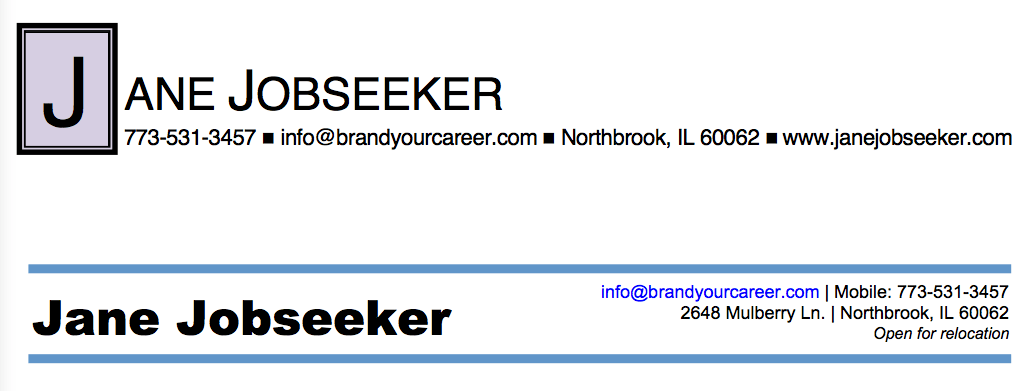 best fonts for resumes