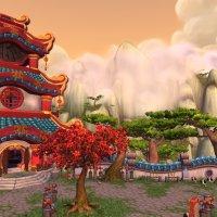 Mists of Pandaria -- Wandering Isle