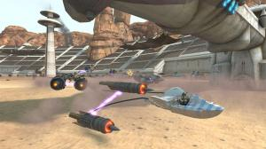Kinect Star Wars Podracer Screenshot