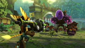 rc3 300x168 Ratchet & Clank: QForce   PS3 Review