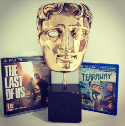 BAFTA The Last of Us and Tearaway win 8 BAFTA's between them