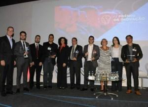 Ganhadores do IV Prêmio Brasil-Alemanha de Inovação.