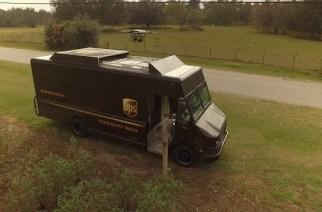 UPS testa entrega residencial por meio de drone