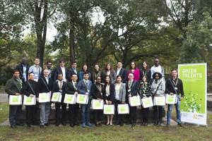 Group Picture Green Talents - winners 2016 - baixa