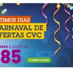 Pacotes Promocionais Carnaval 2015 na CVC