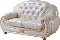 Giza Full Leather in Beige, Sofas Loveseats and Chairs ...