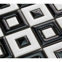 Black And White Mosaic Floor Tiles | www.pixshark.com ...