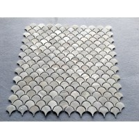 off white Shell Tile Backsplash Mother of Pearl Mosaic