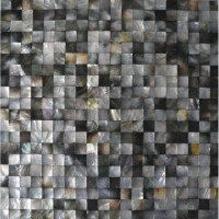Seashell Mosaic Seamless Mother of Pearl Tiles for ...