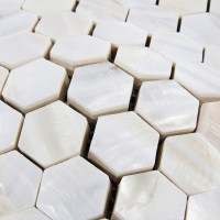 Mother of Pearl Tiles Backsplash Cheap Hexagon Mosaic ...
