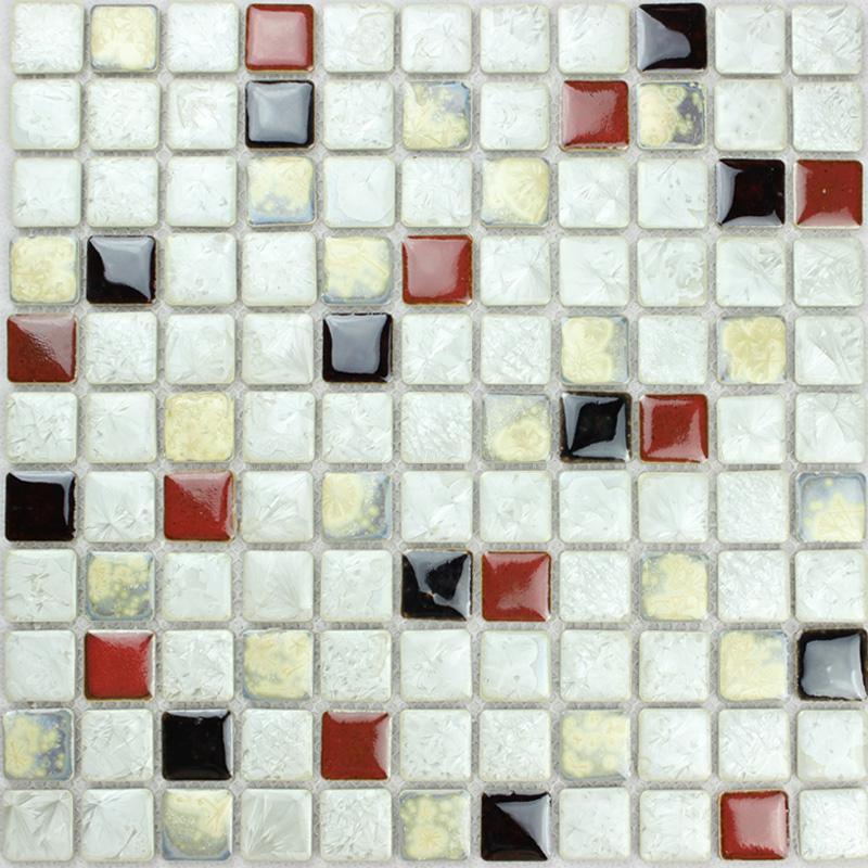 Porcelain Tile Mosaic Glazed Ceramic Bathroom Wall Decor