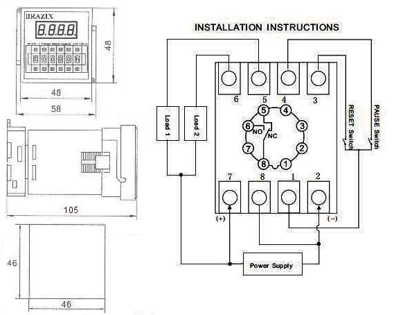 12v relay timer switch