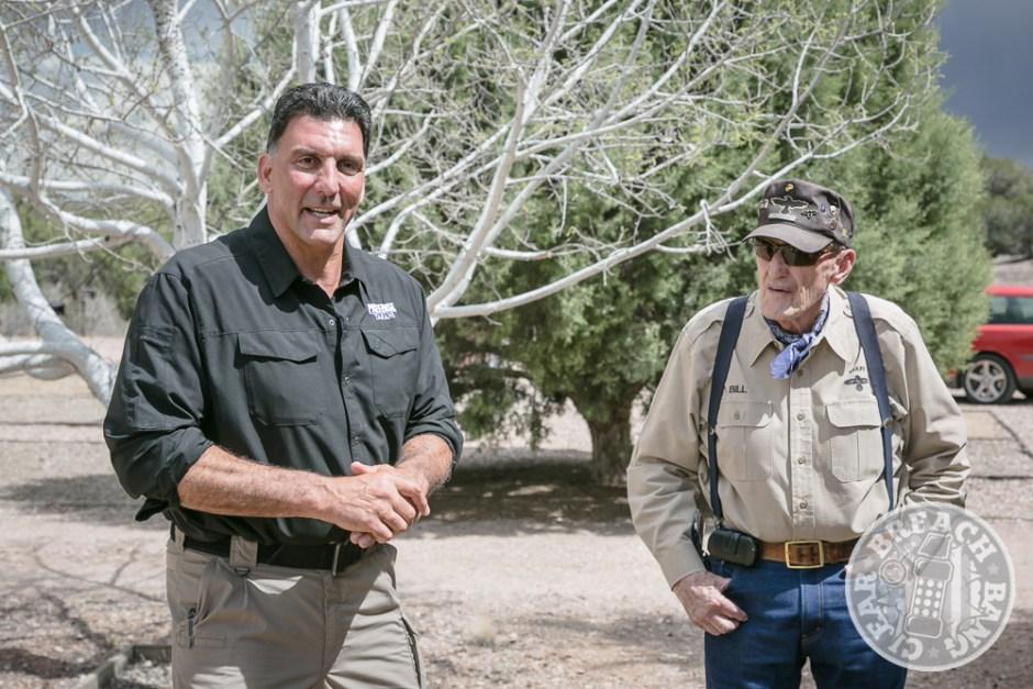 Steve Tarani introducing Bill Maughan