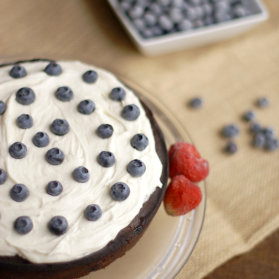 Blueberry Cake Recipe from 1857 - Bread & With It
